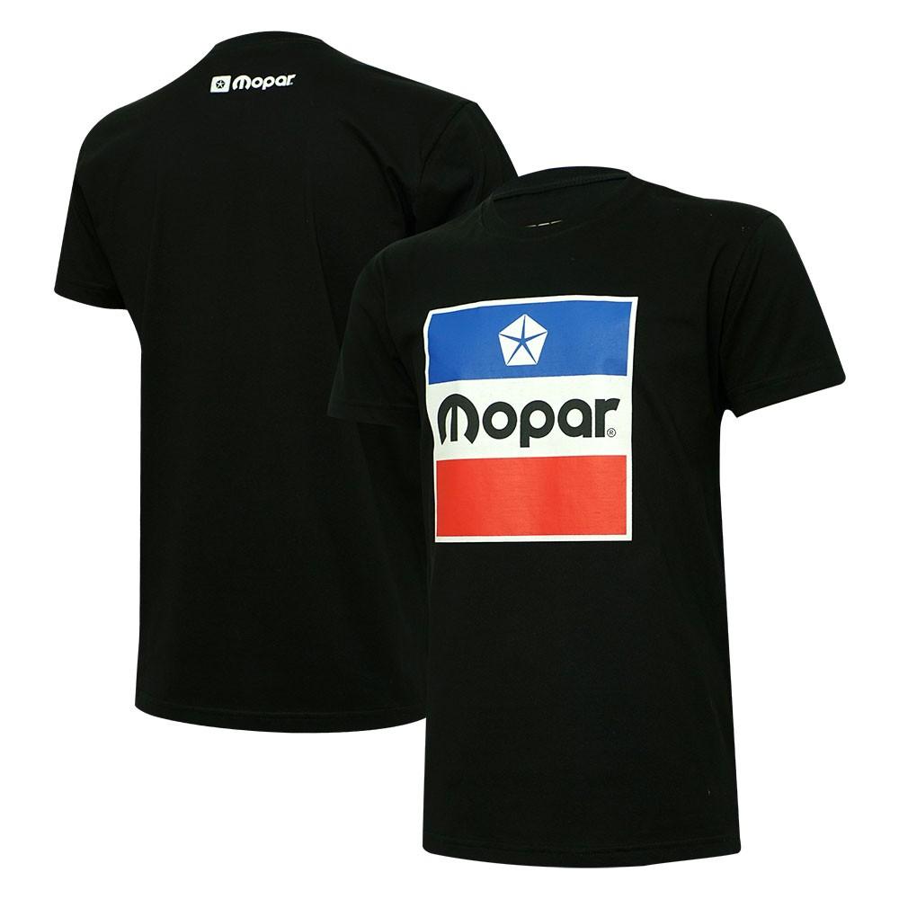 Camiseta MOPAR Logo Vintage - Preta