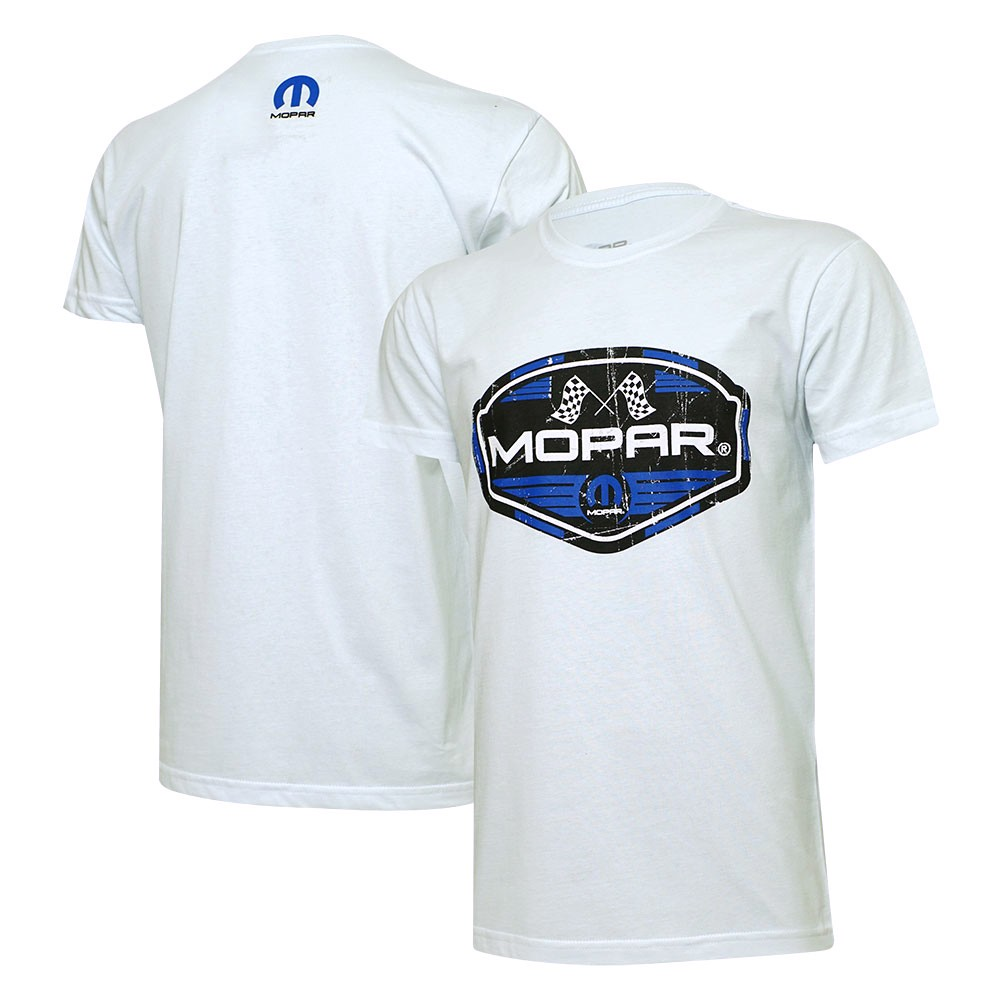 Camiseta MOPAR Racing - Branca