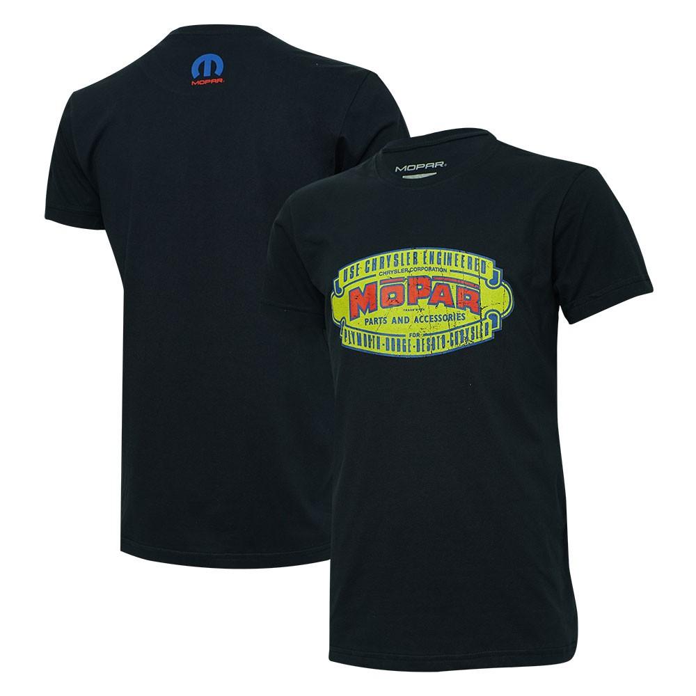 Camiseta Mopar Retro - Azul Marinho