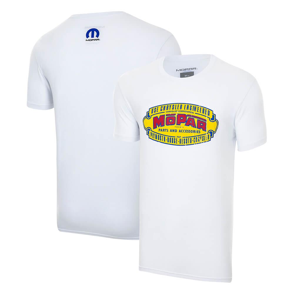 Camiseta Mopar Retro - Branca