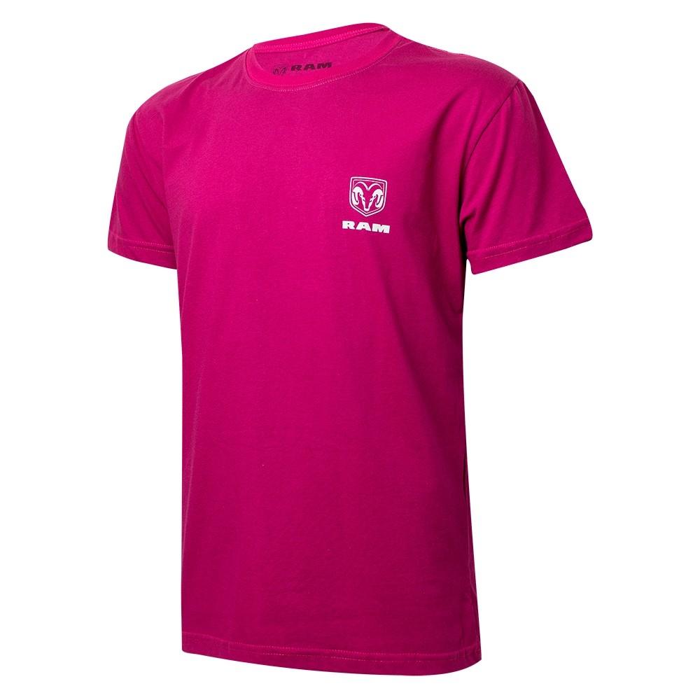 Camiseta Masculina RAM DTG Pickup - Pink