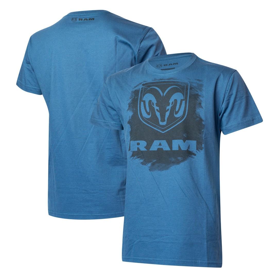 Camiseta Masculina RAM DTG Press - Azul Marinho
