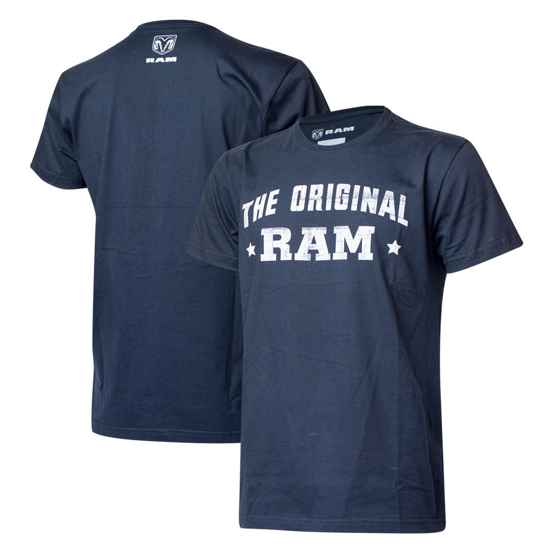 Camiseta Masculina RAM DTG The Original - Azul Marinho