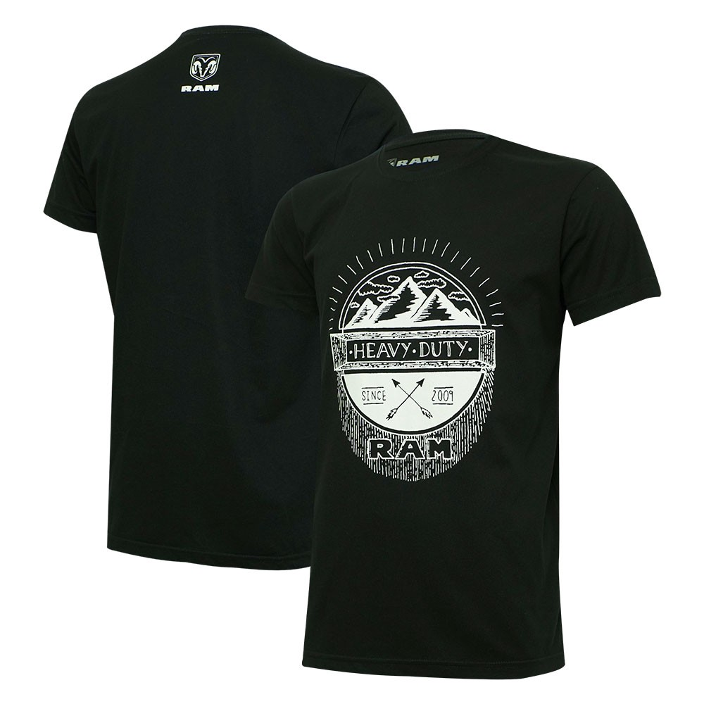 Camiseta Masculina RAM Heavy Duty - Preta