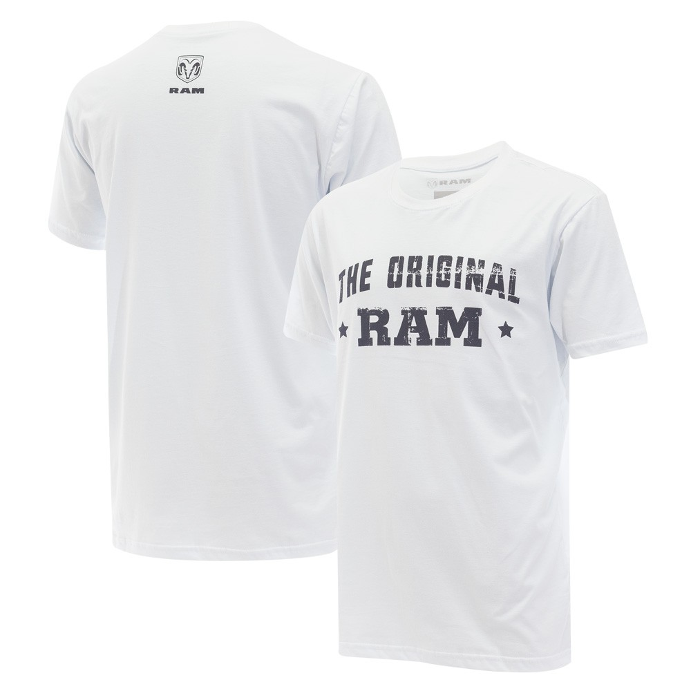 Camiseta Masculina RAM The Original - Branca