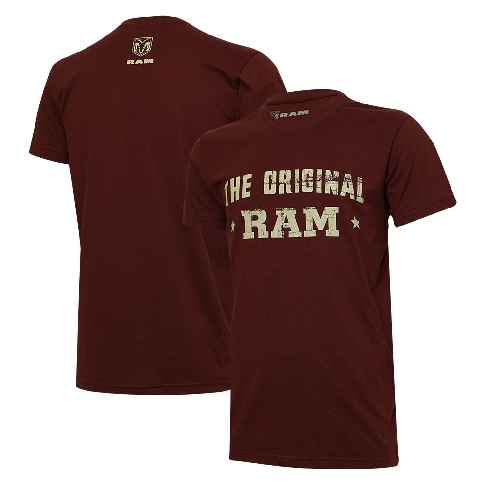 Camiseta Masculina RAM The Original Vinho