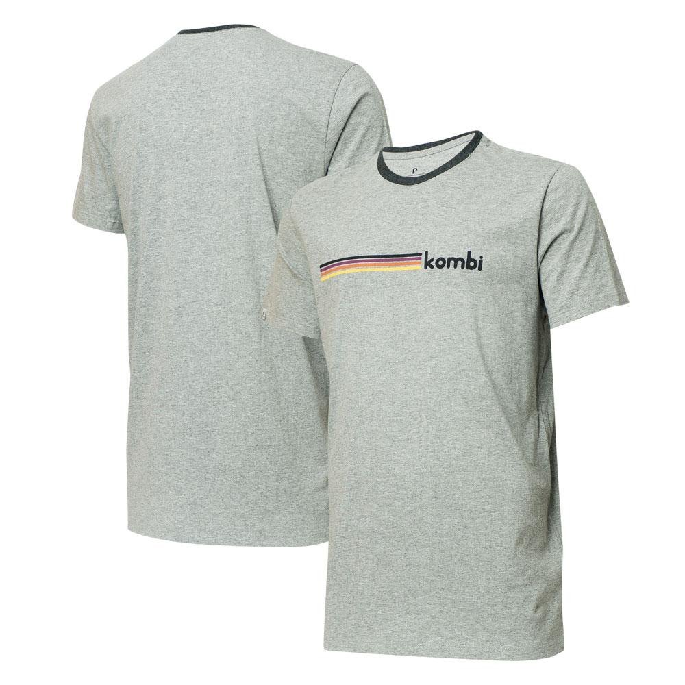 Camiseta VW - Kombi Germany - Cinza Mescla
