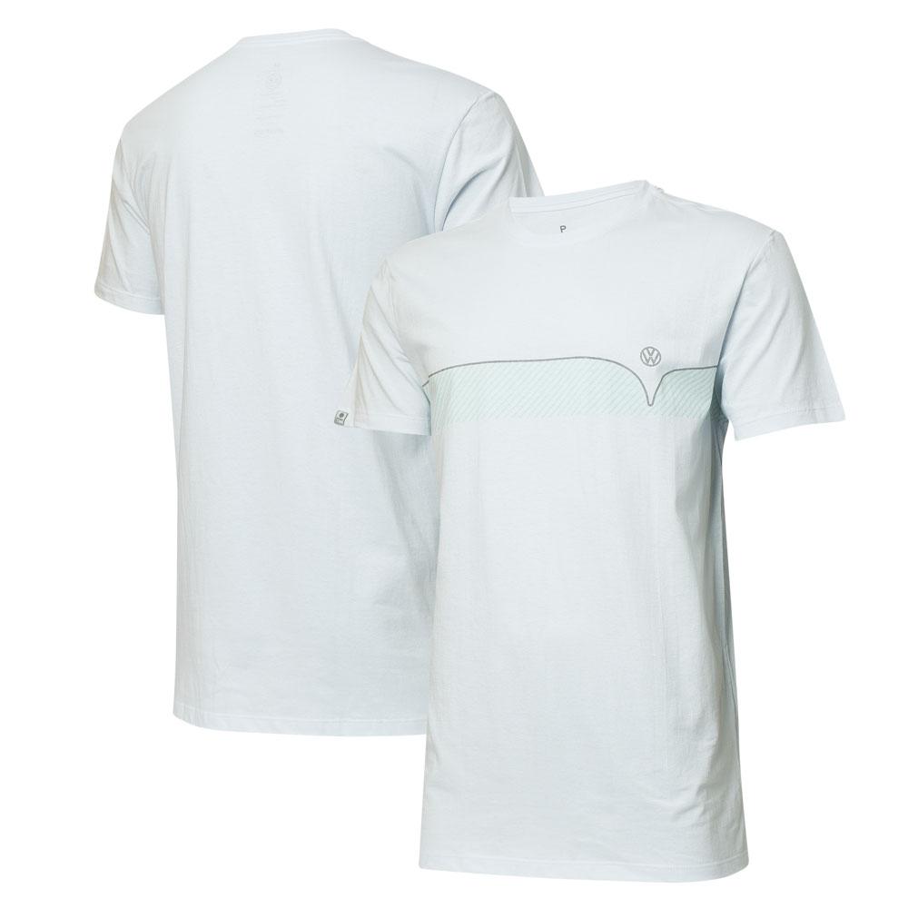 Camiseta VW Kombi Lines - Branco