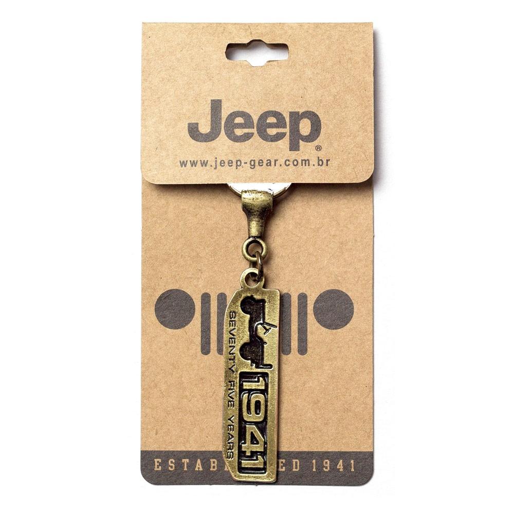 Chaveiro Jeep 75 Anos