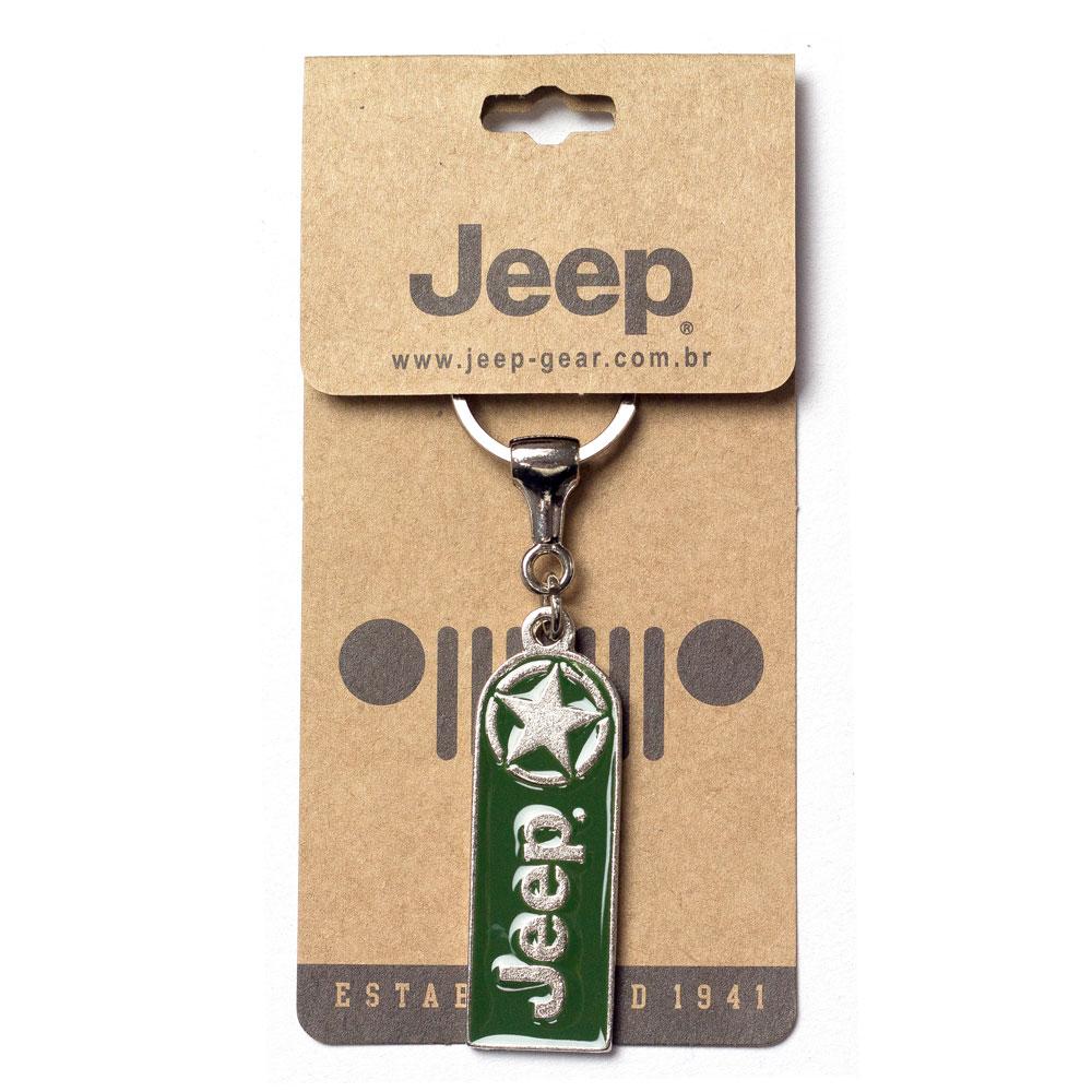 Chaveiro Jeep Retangular