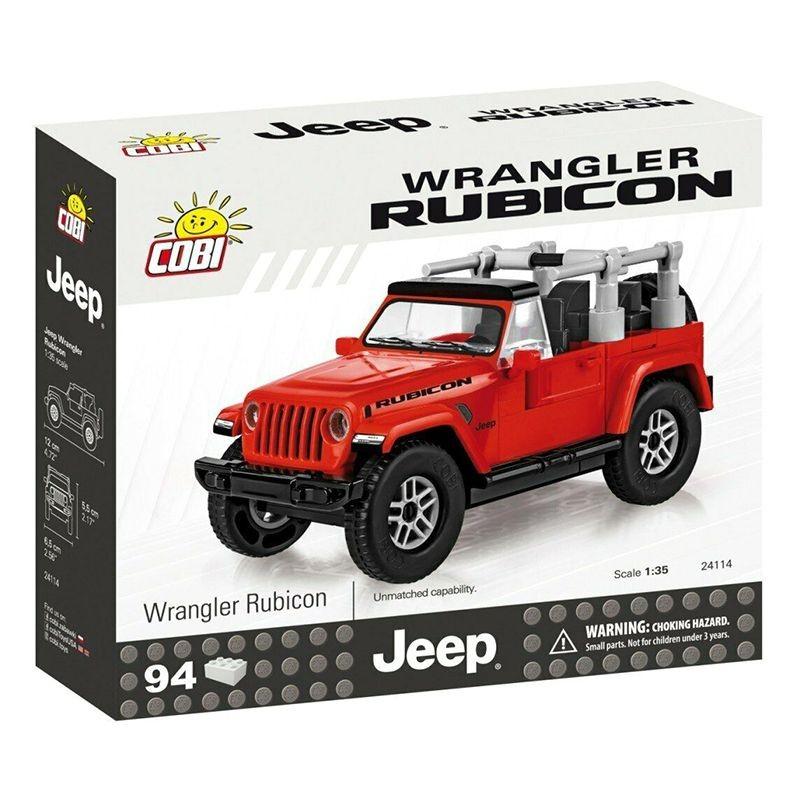 Cobi Bloco de Montar Jeep Wrangler Rubicon - 94 Peças