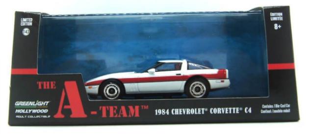 Miniatura Chevrolet Corvette 1984 C4