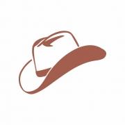 Arquivo de Corte -  Chapéu de Cowboy