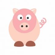 Arquivo de Corte - Porquinho Rabicó