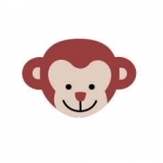 Arquivo de Corte - Rosto Macaco