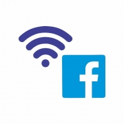 Arquivo de Corte - Wifi Facebook
