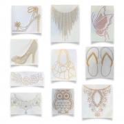 Kit Transfer Strass Fast Patch - pronto Para Uso - Coleção Fashion