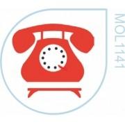 Molde Telefone Retrô