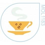 Molde Xícara Café Fumaça
