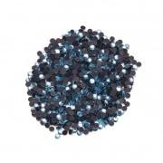 Strass  Fast Patch Termodinâmico  3mm - Azul Claro  - 800 uni