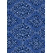 Tecido Fast Patch Termodinâmico 24x35cm - Cor: E517V Bandana Azul