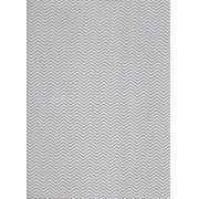 Tecido Fast Patch Termodinâmico 24x35cm - Cor: E530V  Chevron Cinza
