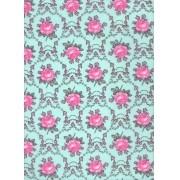 Tecido Fast Patch Termodinâmico 24x35cm - Cor: E542V Floral Rosa