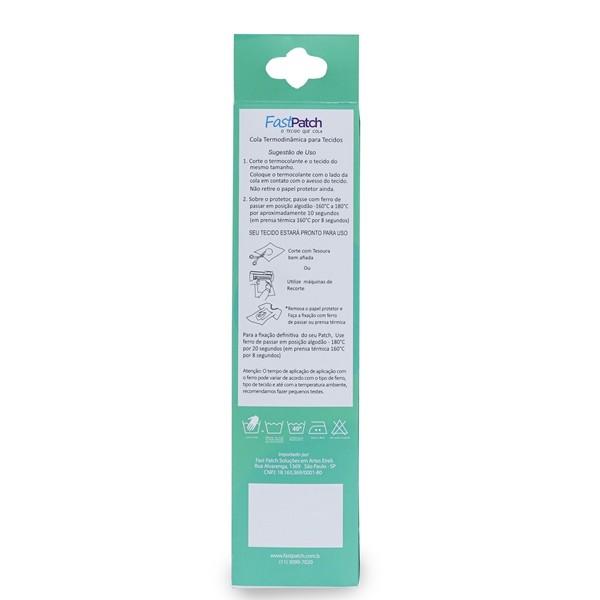 2 Colas Fast Patch 24cm X 8m - Termocolante Definitivo