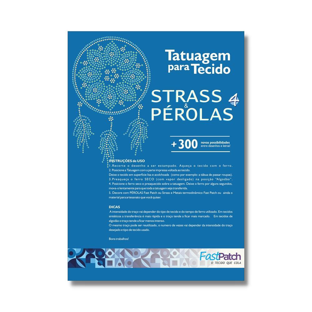 Aplicador Pérola Fácil + Apostila 4 + 3.200 Strass Termocolante