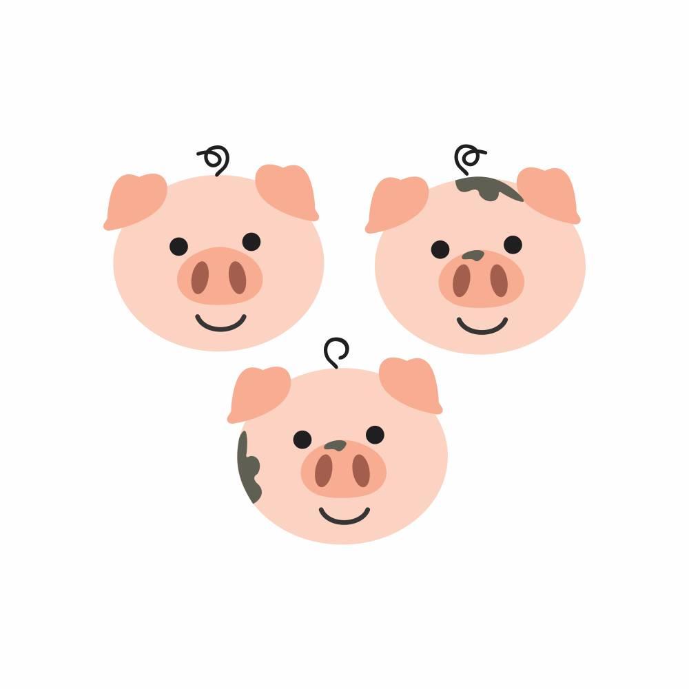 Arquivo de Corte -  3 Porquinhos