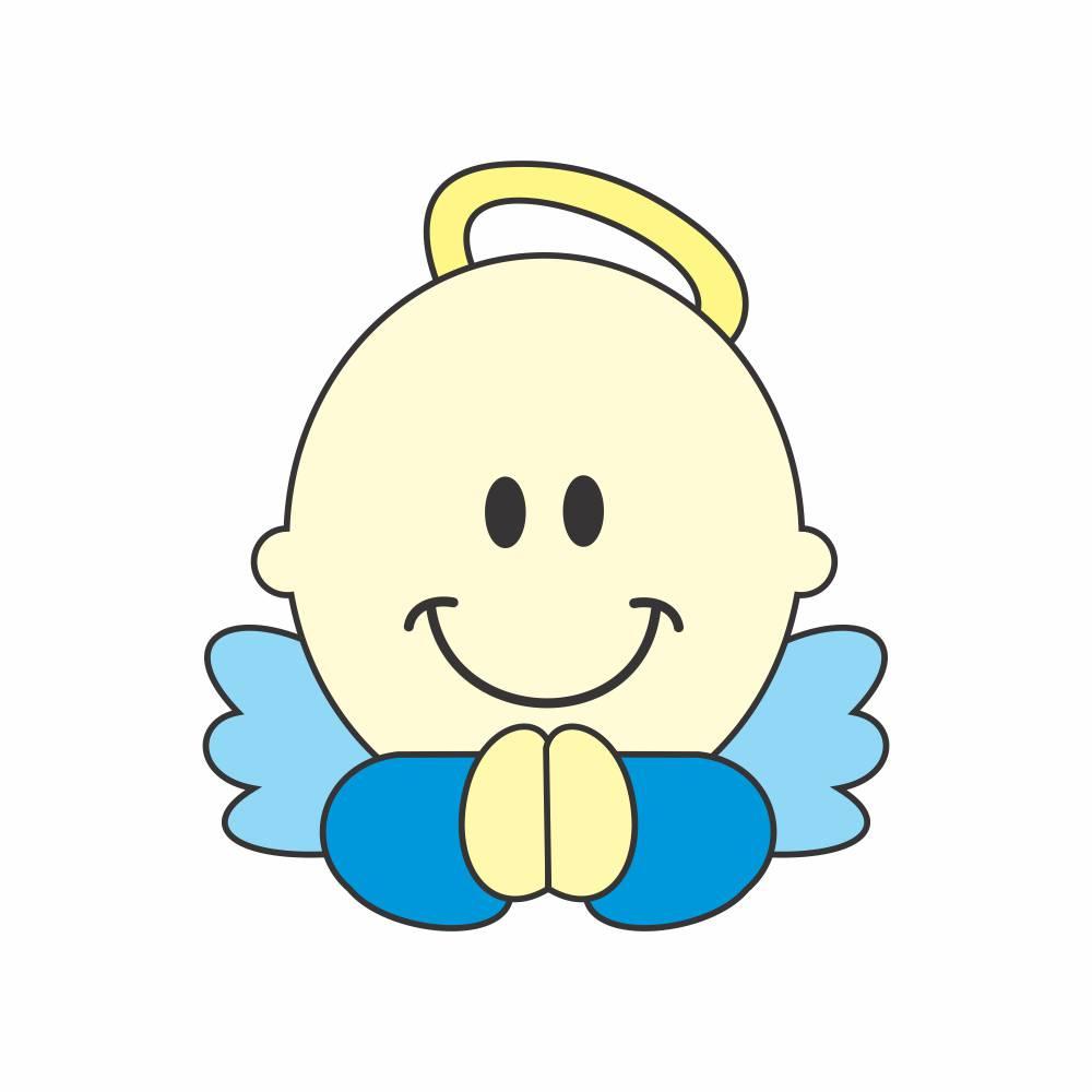 Arquivo de Corte - Anjo Baby