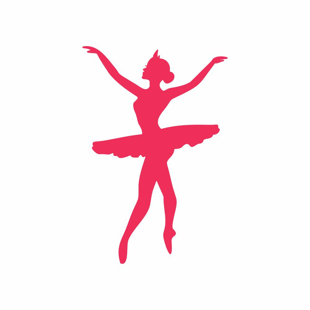 Arquivo de Corte - Bailarina Movimento