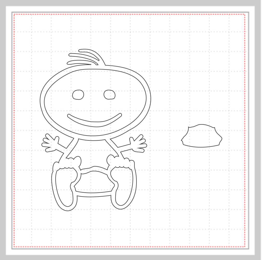 Arquivo de Corte - Bebê