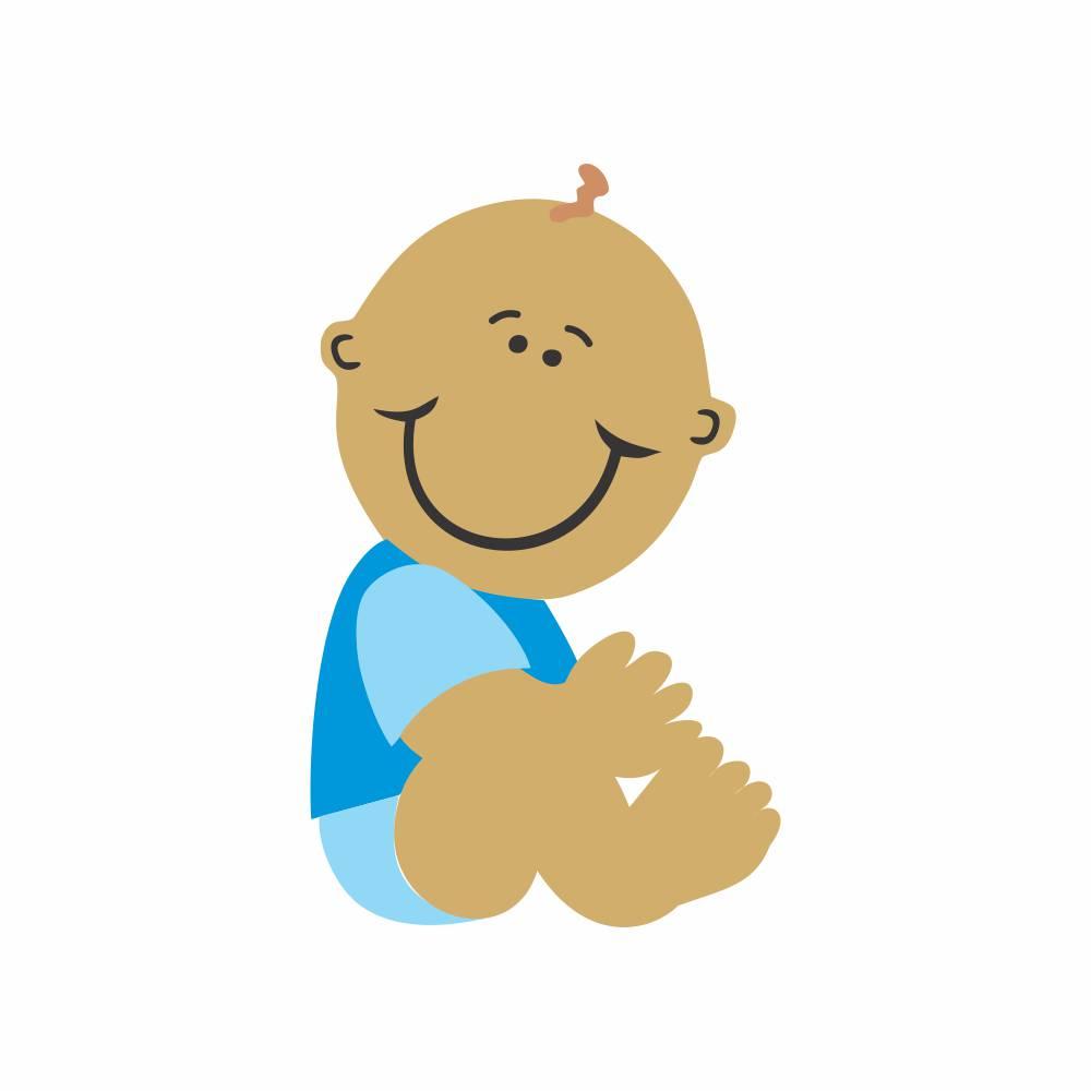 Arquivo de Corte - Bebê Menino