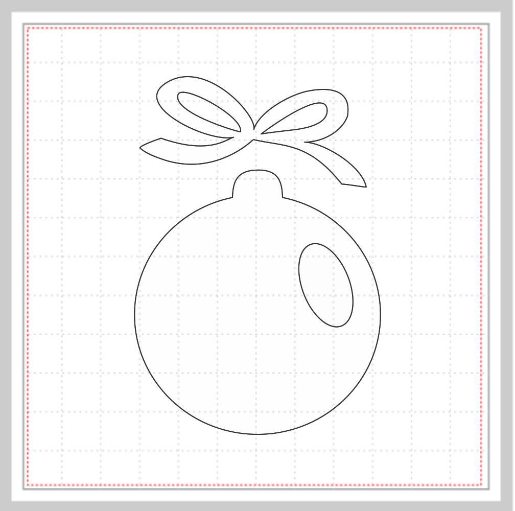 Arquivo de Corte - Bolas de Natal