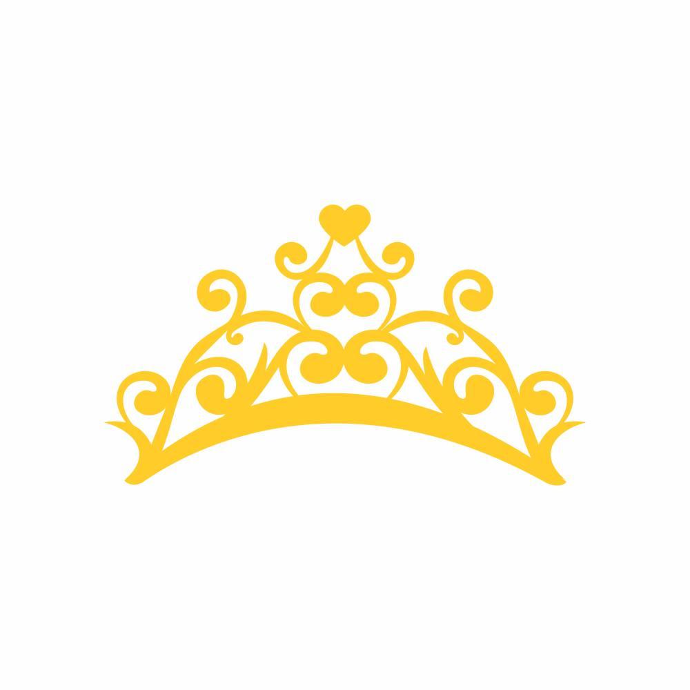 Arquivo de Corte - Coroa Coração