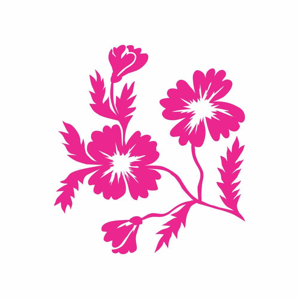 Arquivo de Corte - Floral
