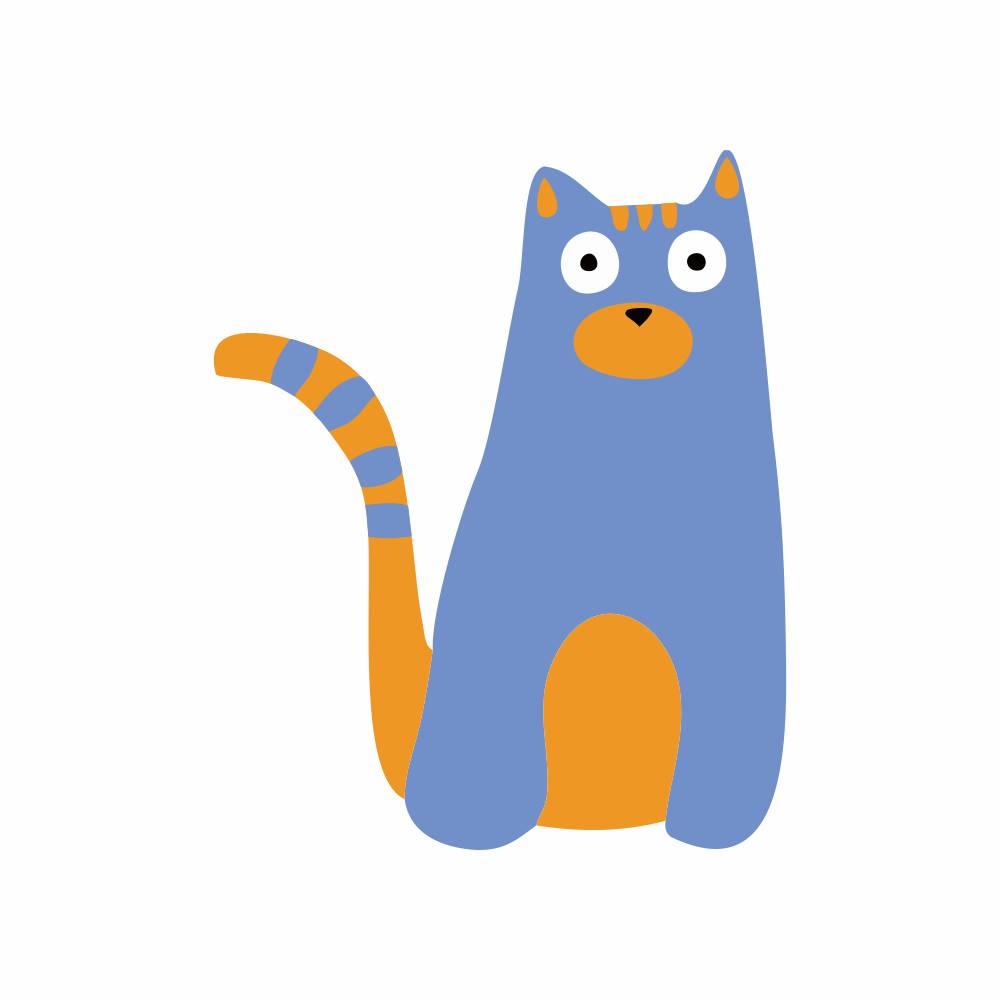 Arquivo de Corte - Gato