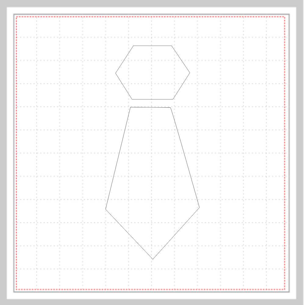 Arquivo de Corte - Gravata Standard
