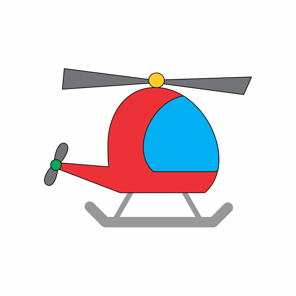 Arquivo de Corte - helicóptero