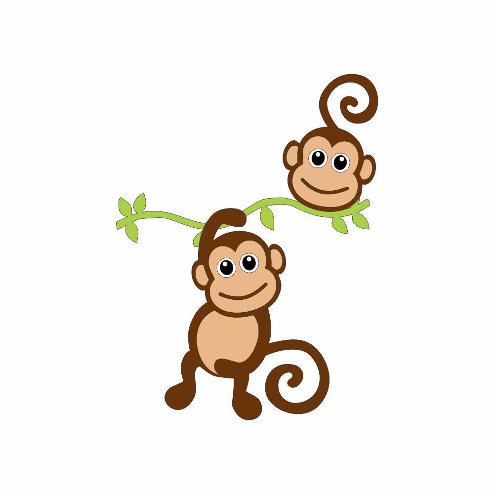 Arquivo de Corte - Macacos no Galho