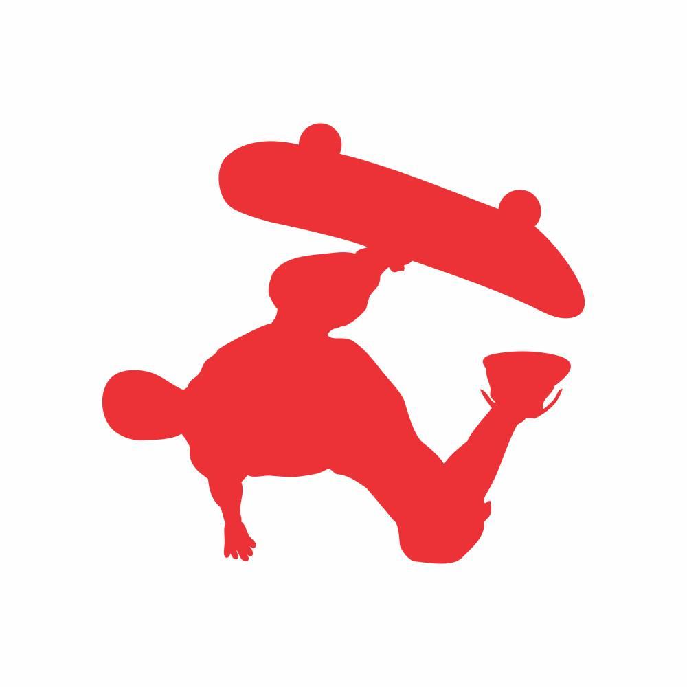 Arquivo de Corte - Menino Skate Manobra