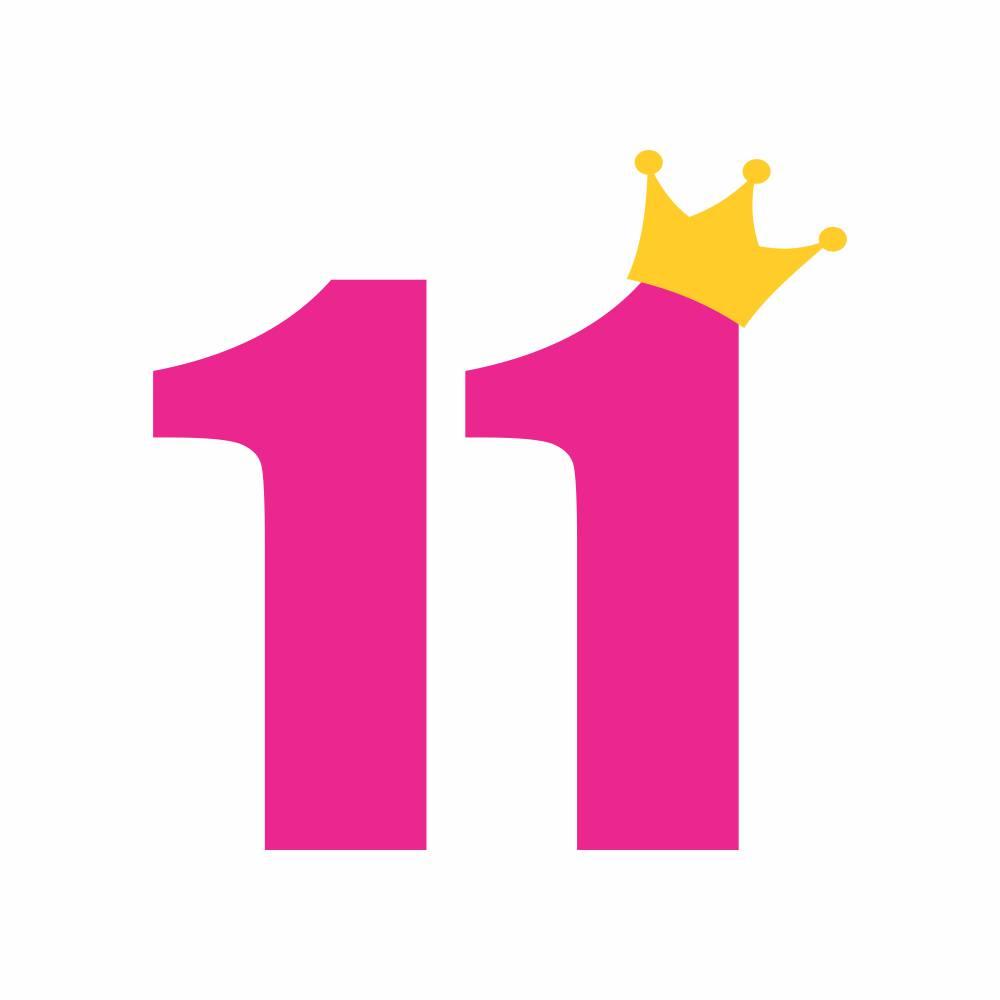 Arquivo de Corte - Mesversário 11 com Coroa