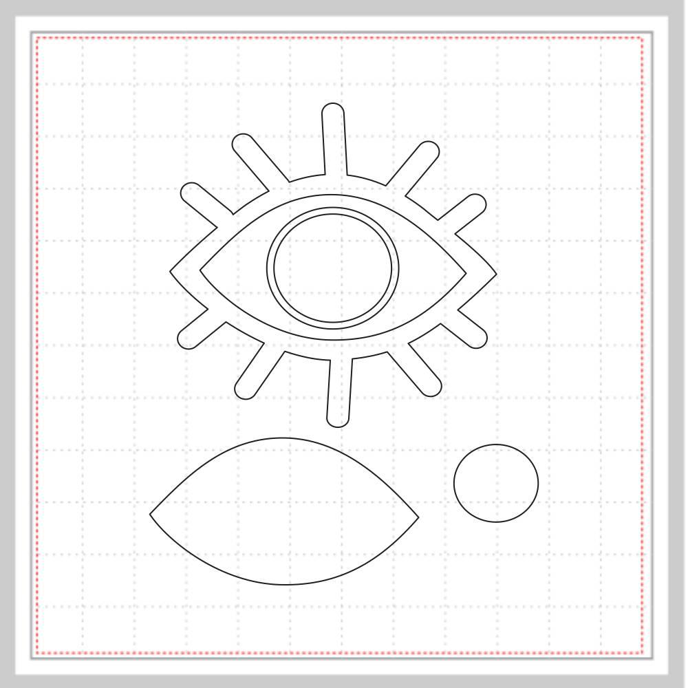 Arquivo de Corte - Olho Grego