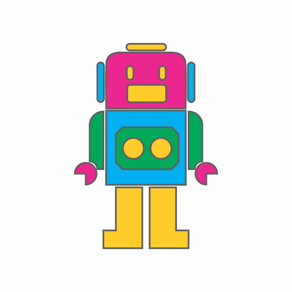 Arquivo de Corte - Robô