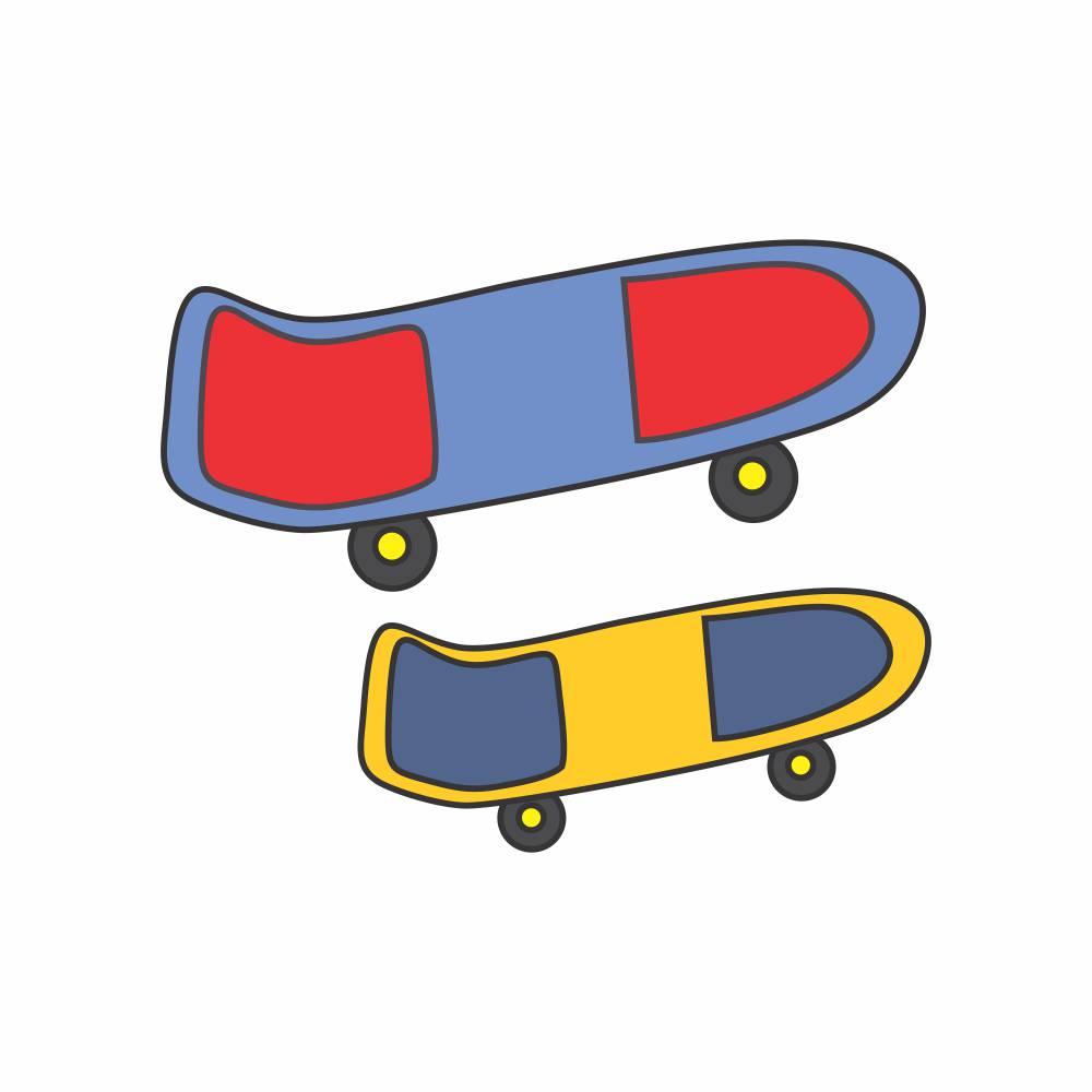 Arquivo de Corte - Skate
