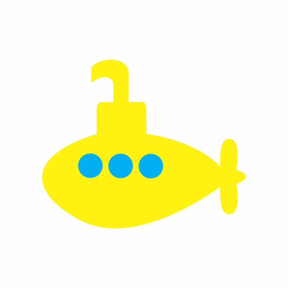 Arquivo de Corte - Submarino Amarelo