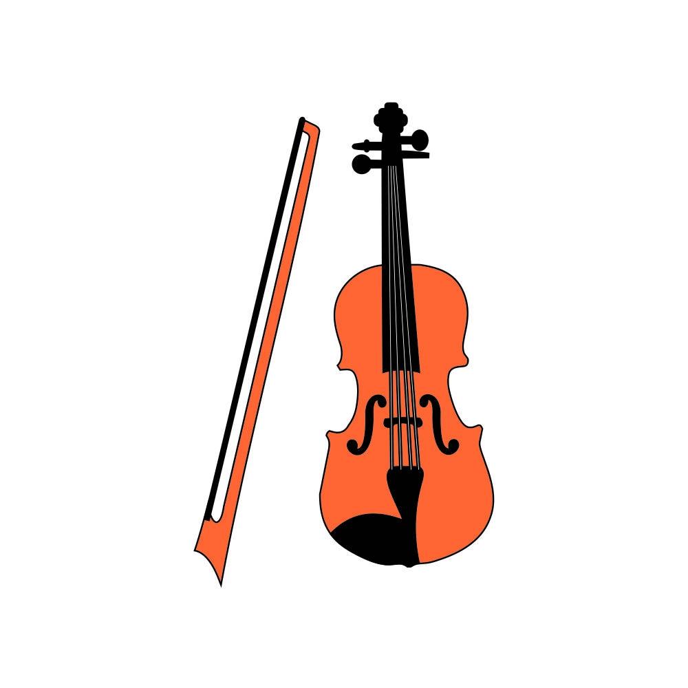 Arquivo de Corte - Violino