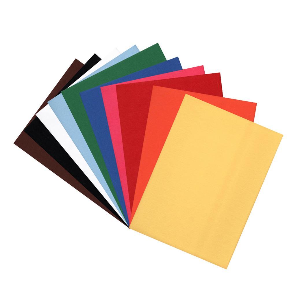 Kit 10 Tecidos Lisos Termocolante Definitivo Fast Patch. Os mais Vendidos!
