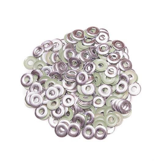 Metal Ilhós Fast Patch Termodinâmico 6mm - Prata - 200 uni